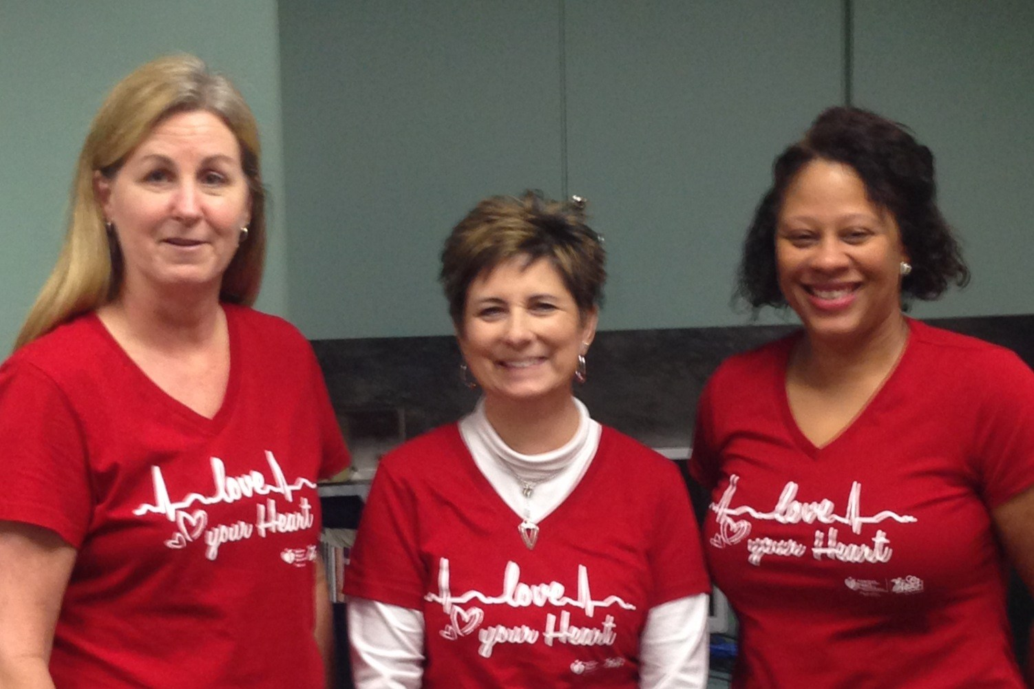 TJHS Staff Go RED!