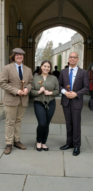 JSA students winning top speaking awards at Princeton University