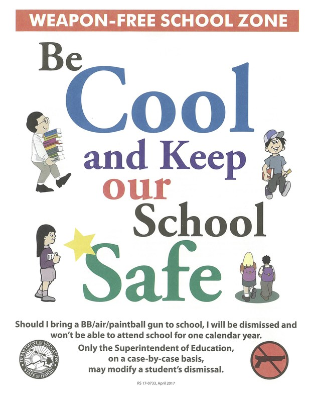 Be Cool Keep our School Safe Featured Photo