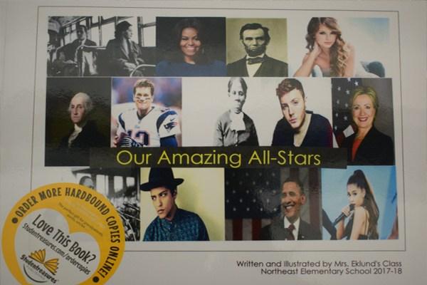 NE 2nd graders publish All-Star books Thumbnail Image