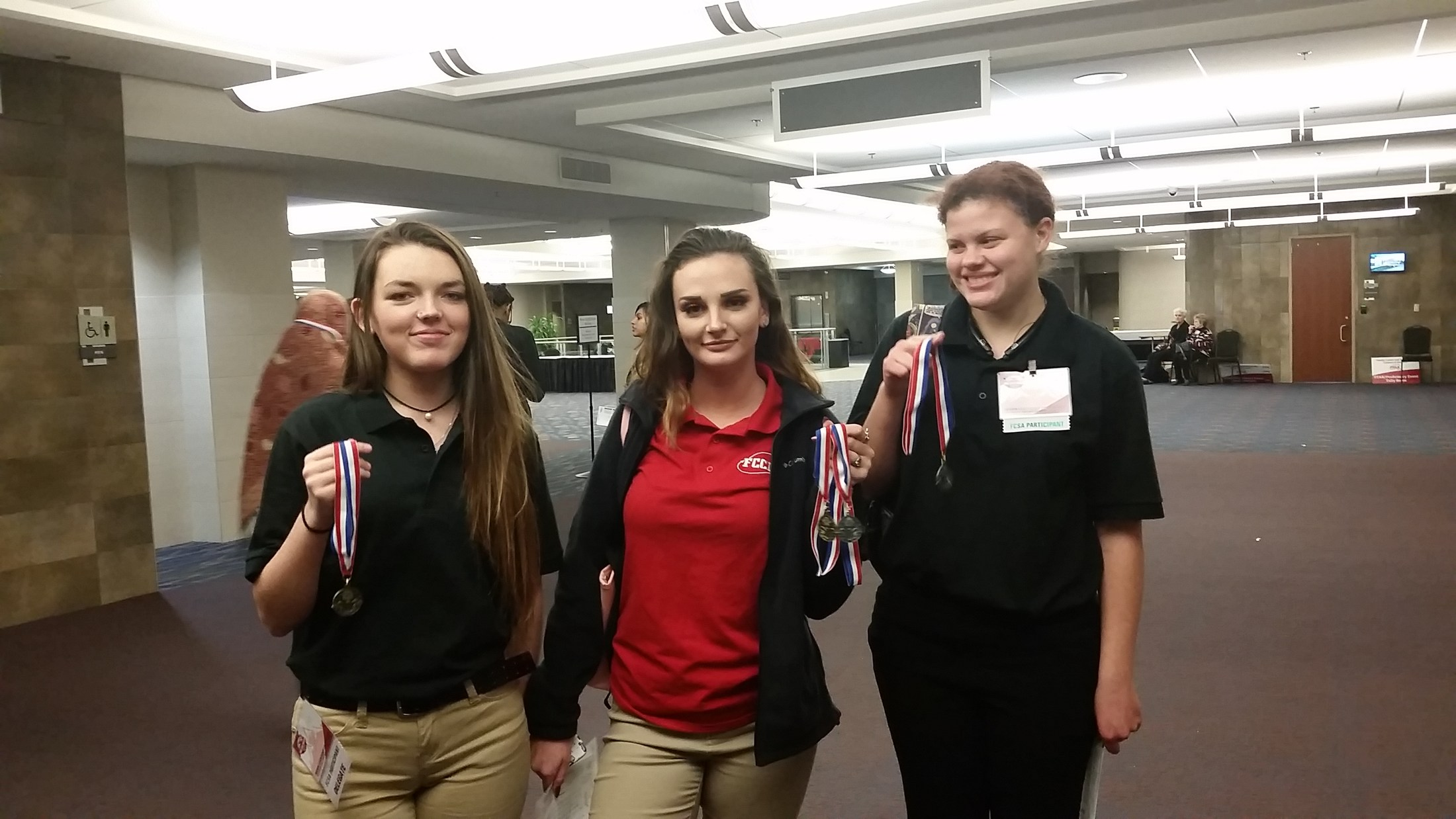 FCCLA Students Show Off Their Medals