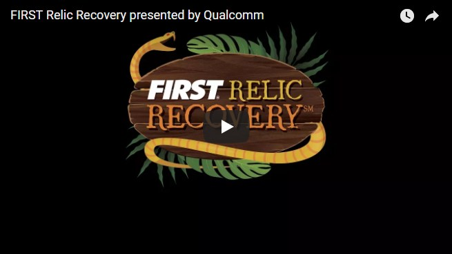 FIRST Relic Recovery Challenge Video