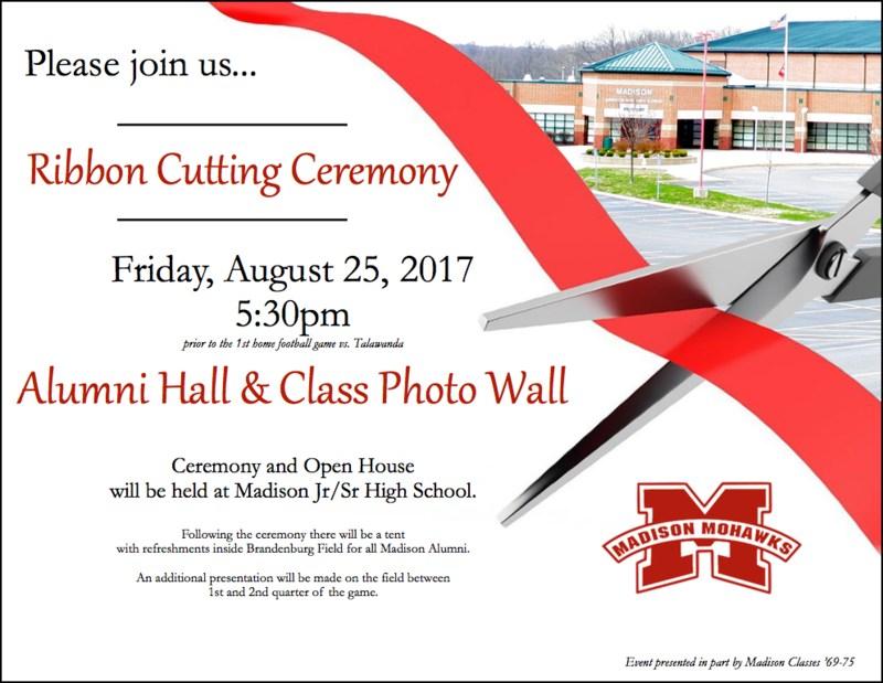 ribbon cutting invitation