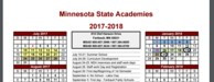 A glimpse of the 2017-2018 School Calendar