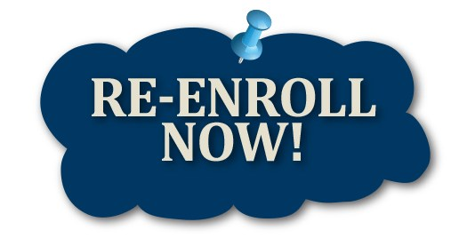 Click Here For Re-Enrollment - Current Families Only Featured Photo