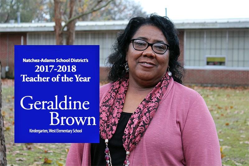 Congratulations Geraldine Brown Thumbnail Image