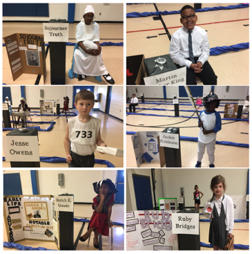 The LMES Living Wax Museum - Where History Comes to Life Thumbnail Image