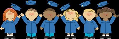 kindergarten caps and gowns
