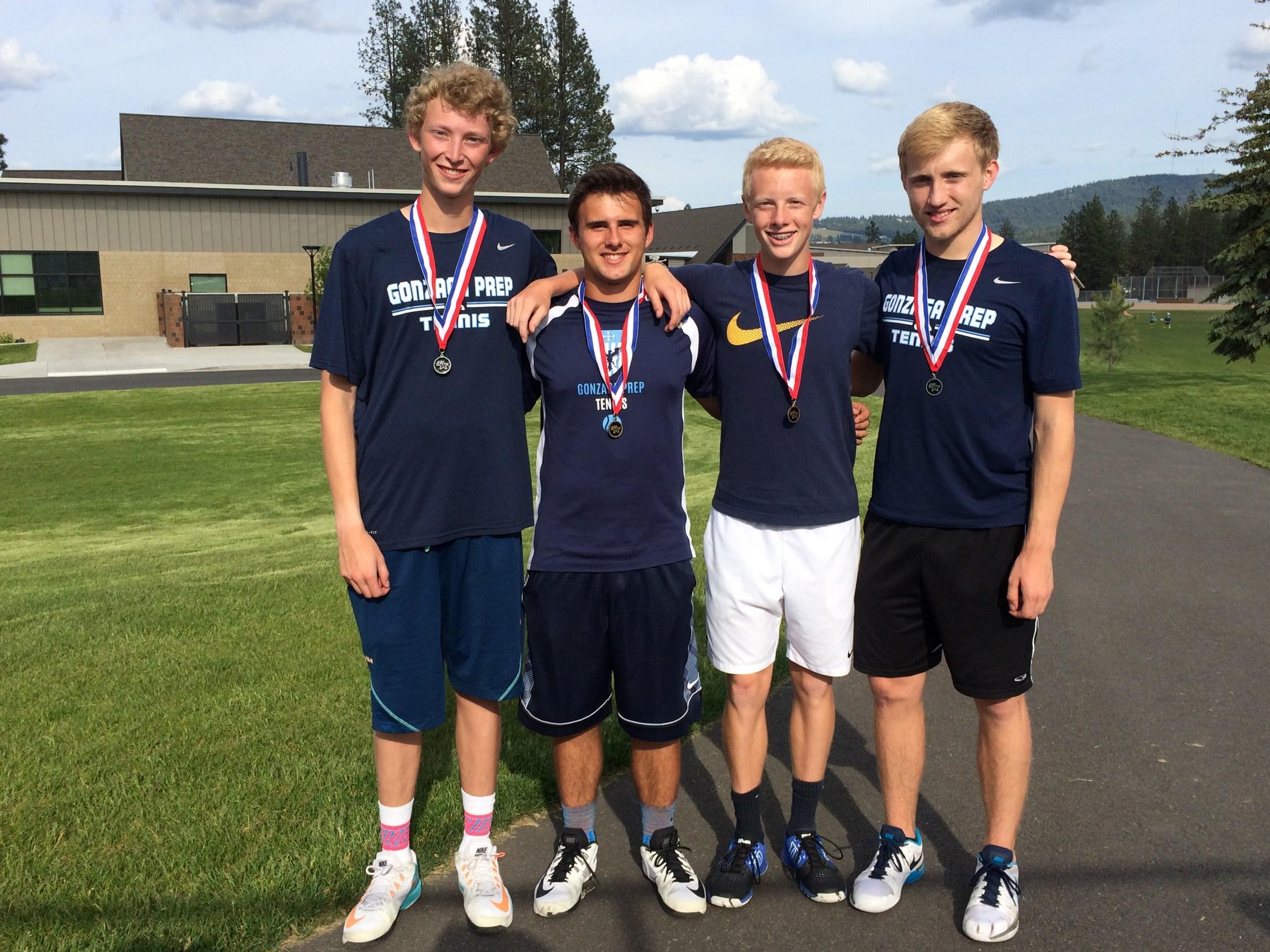 Boys Tennis - 2016 GSL District Champions!