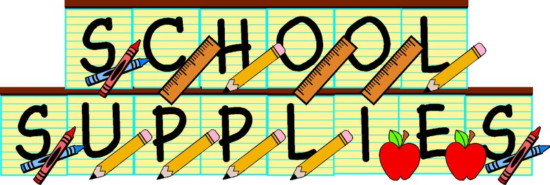 School Supplies Thumbnail Image