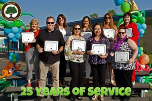25 Years of Service Awards