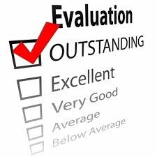 image of Evaluate and outstanding check marked