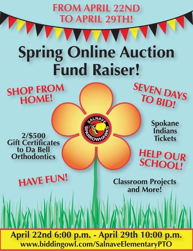 PTO Online Auction Fundraiser! Thumbnail Image