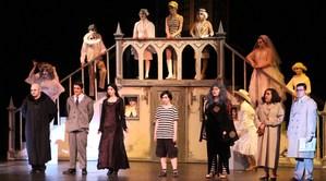 Gananda's High School Drama Club performs The Addams Family