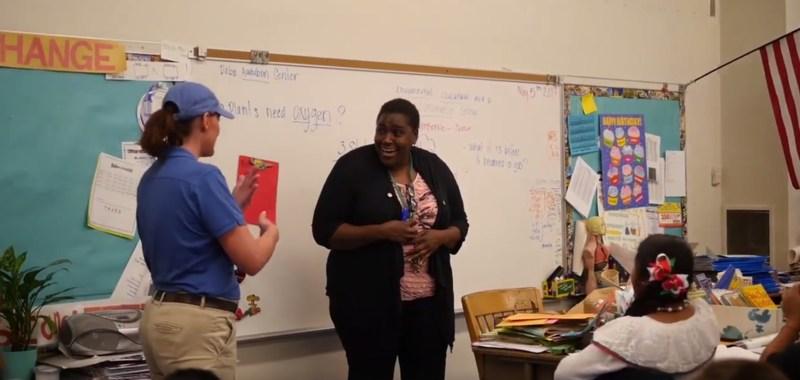 Ms. Jarrett honored by Honda! Thumbnail Image