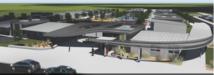 rendering of new school