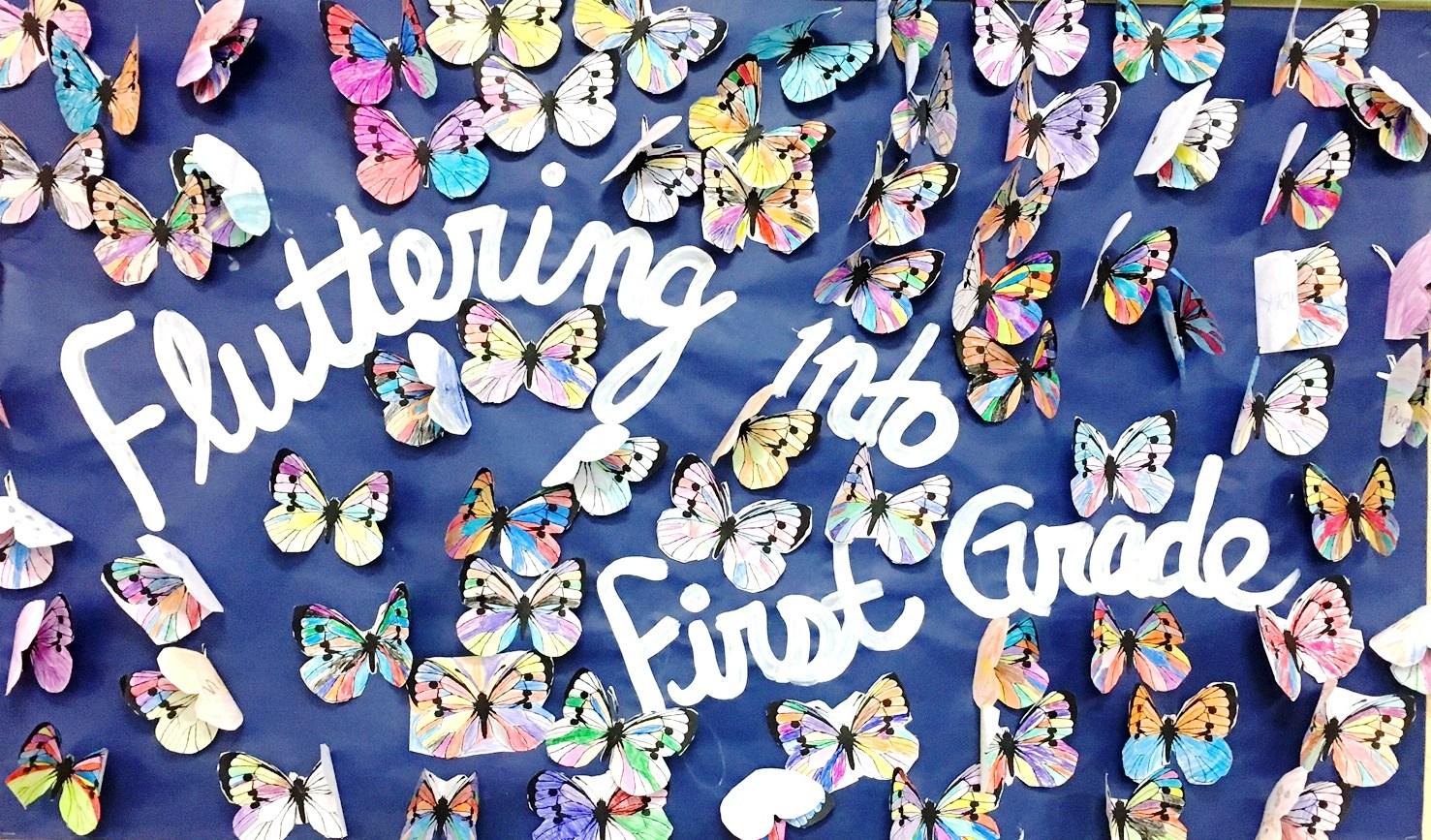 1st Grade Butterflies