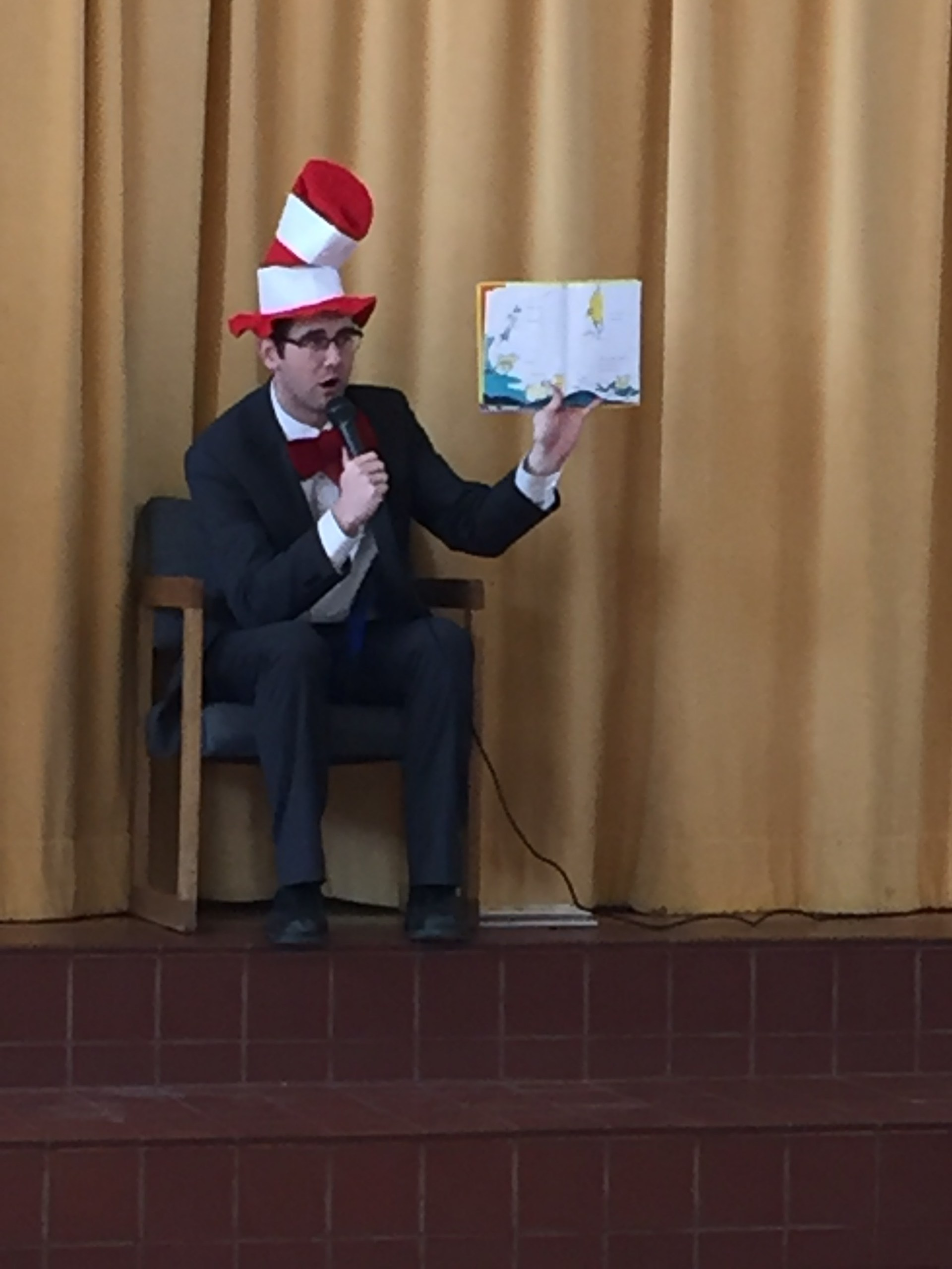 Mr. Poole Cat in the Hat