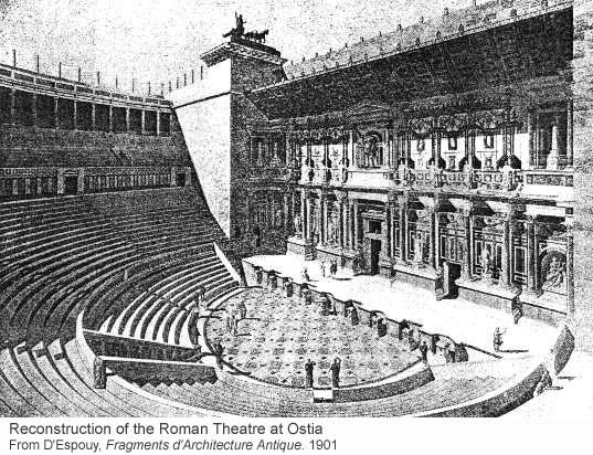 An old Greek theatre