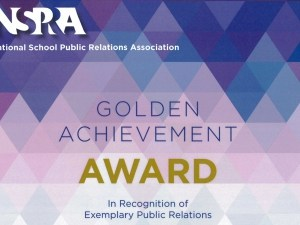 National School Public Relations Associate Golden Achievement Award