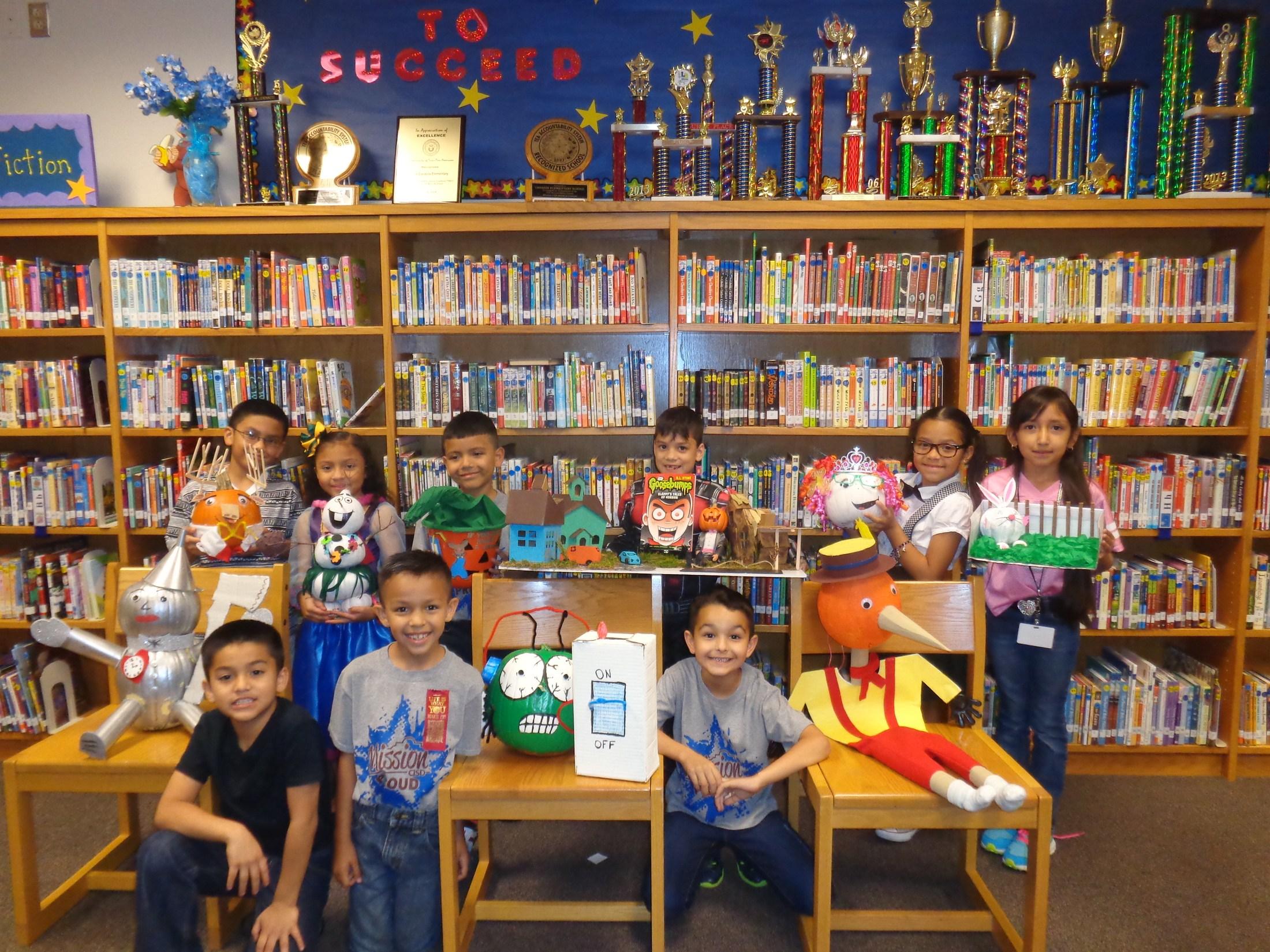 pumpkin book characters winners