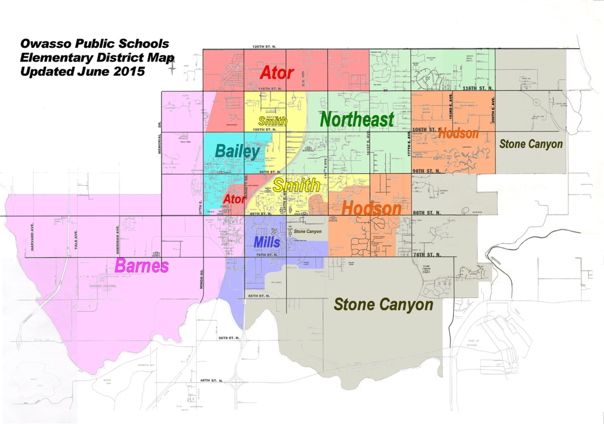 Elementary District Map