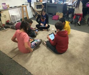 FSD students on iPersonalize quest using technology