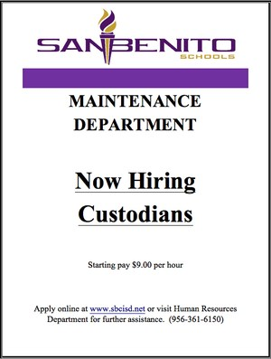 Hiring Custodians