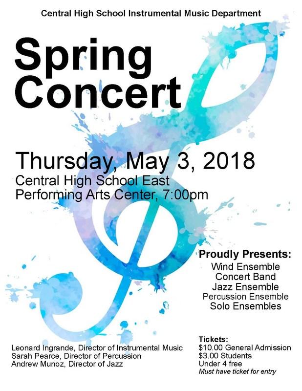 Spring Concert Flier