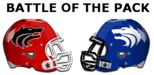 SA Football Helmet and Wolfe City Football Helmet