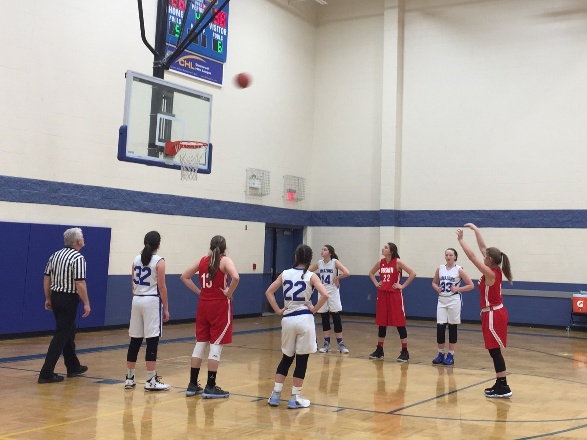 Free Throw Shooter - Abby Strunk