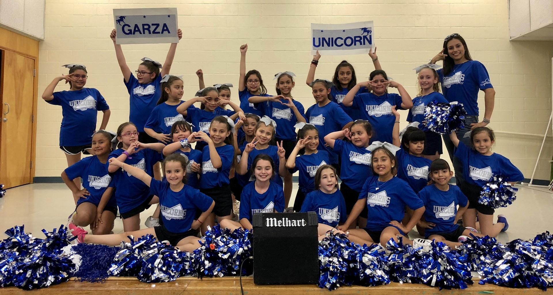 Garza Cheerleaders