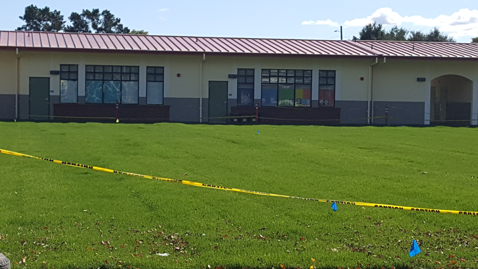 New Grass Area at Franklin School