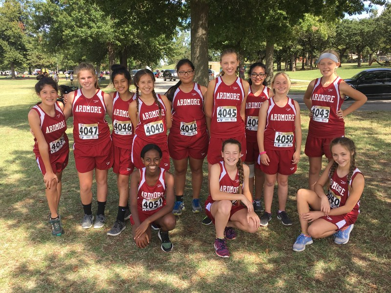 AMS Cross Country Girls Team