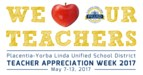 PYLUSD Teacher Appreciation Week graphic.