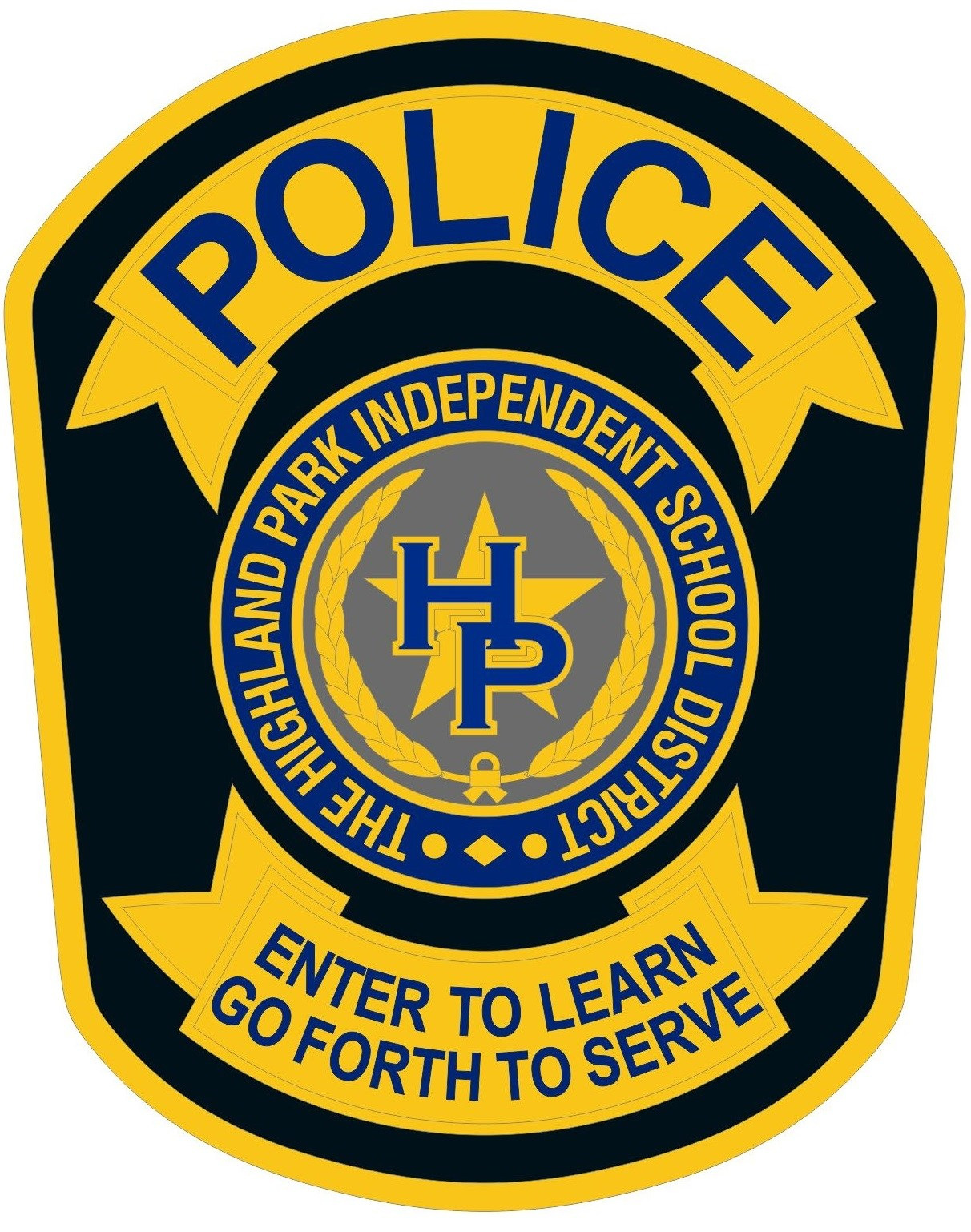HPISD Police Department shield graphic