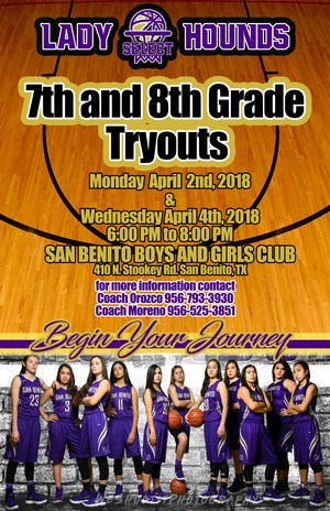 Lady Hounds Basketball Tryouts
