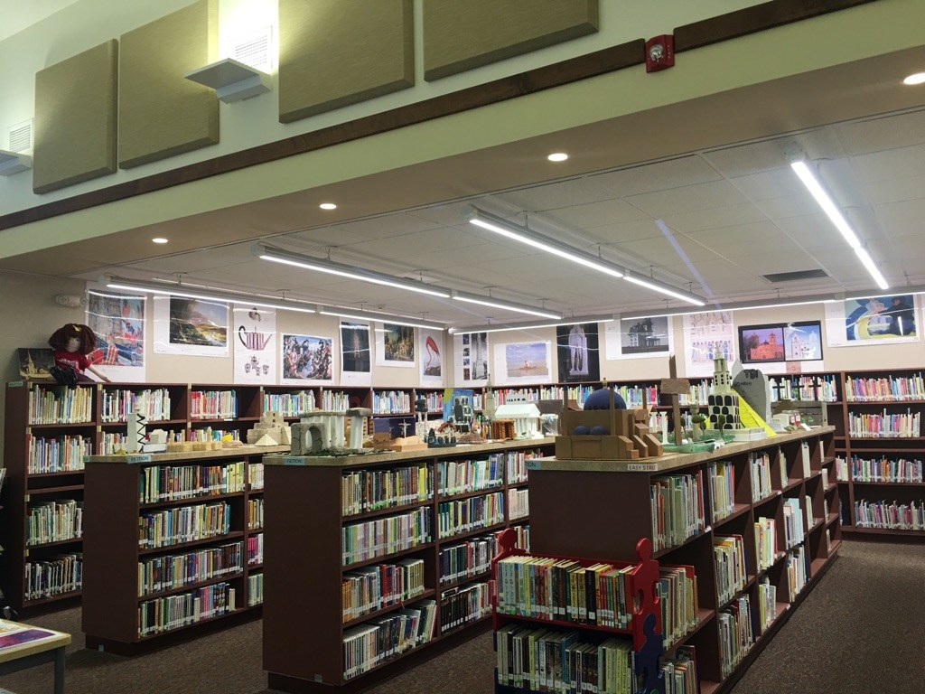 ODE Library with 6th Grade Projects