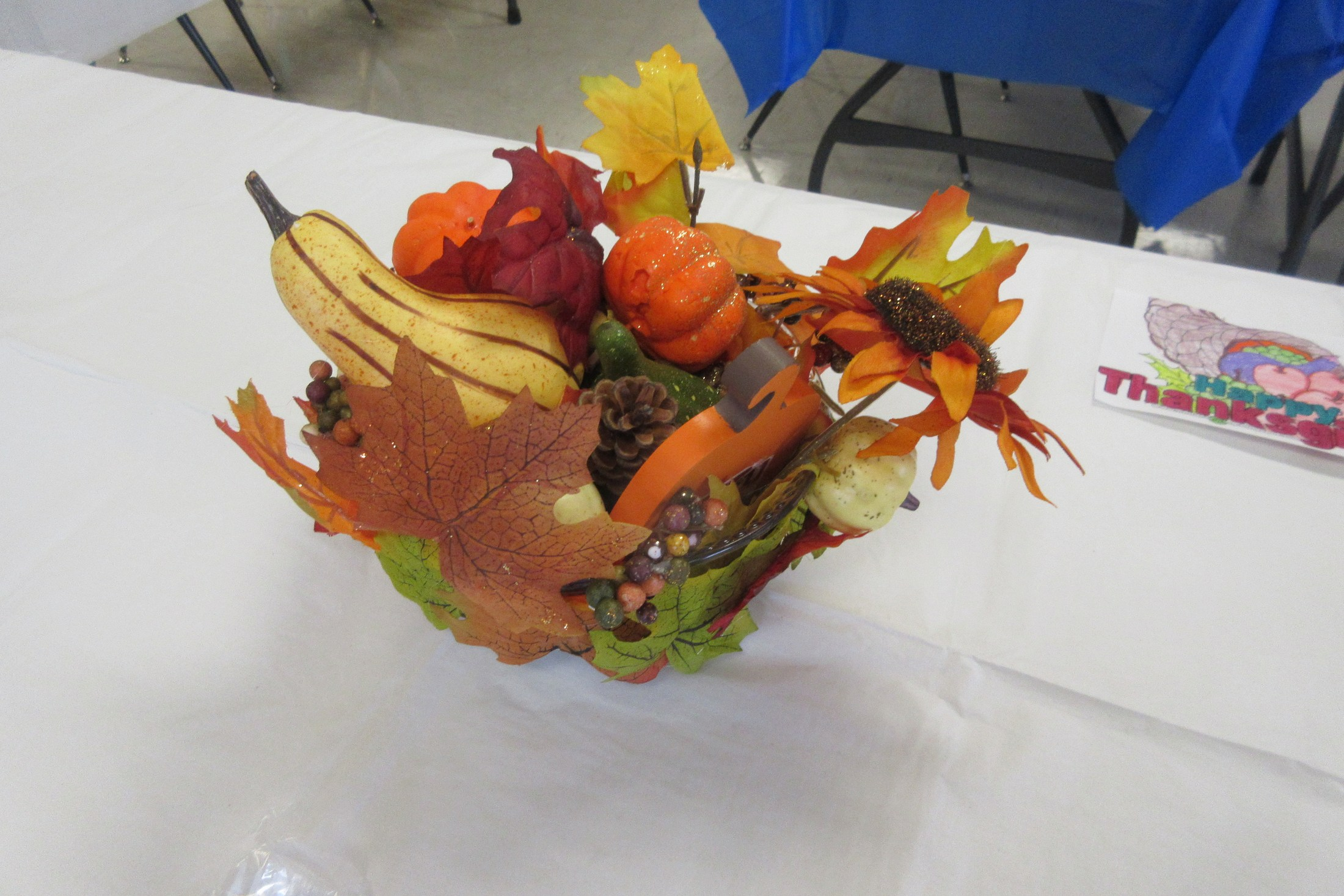 Thanksgiving Centerpiece--High School Art