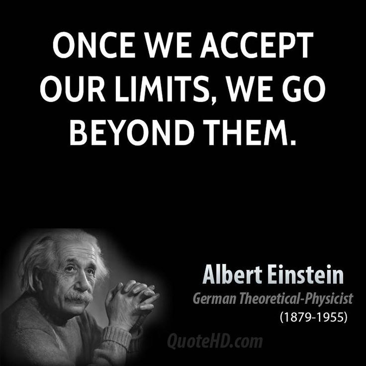 Einstein image and quote