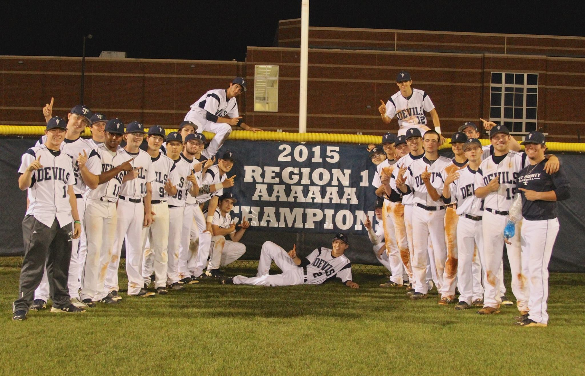 Photo of 2015 Region 1 AAAAAA Champions