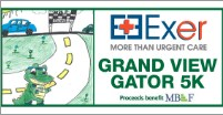 Join Grand View's Exer Urgent Care Gator Run Benefiting MBEF! May 5th, 2018. Thumbnail Image