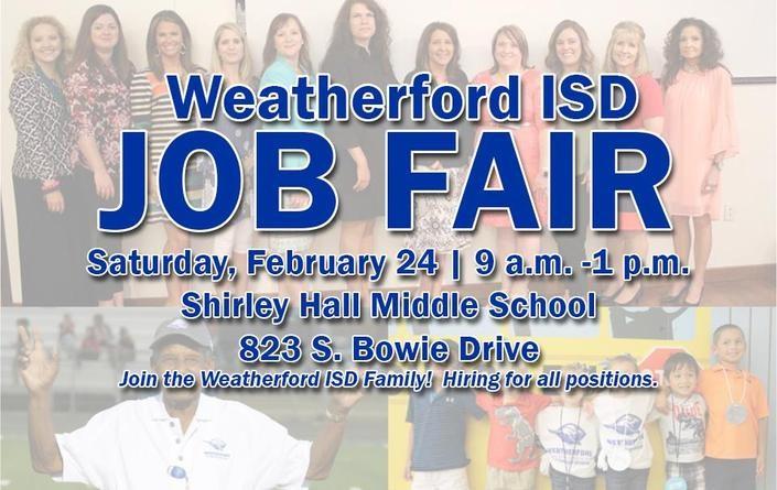 WISD Job Fair | February 24 | 9 am - 1 pm | Hall Middle School