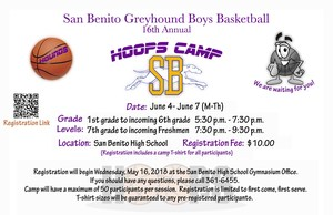 Hoops Camp Flyer