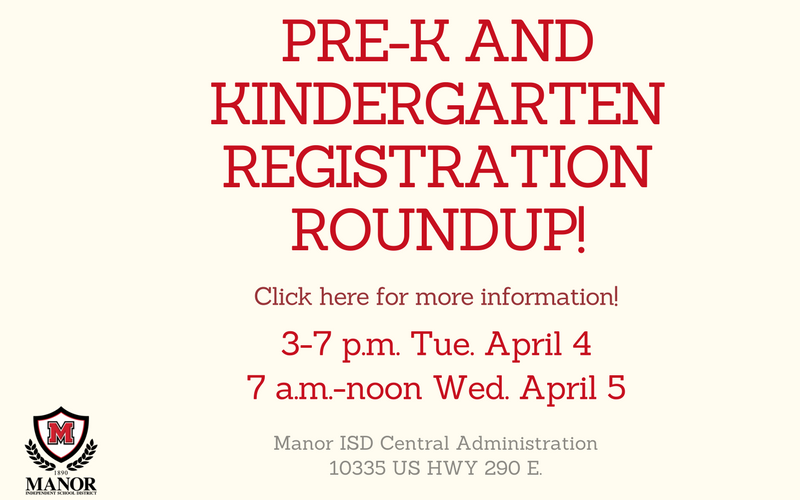 Pre-K and Kindergarten Round-up Thumbnail Image