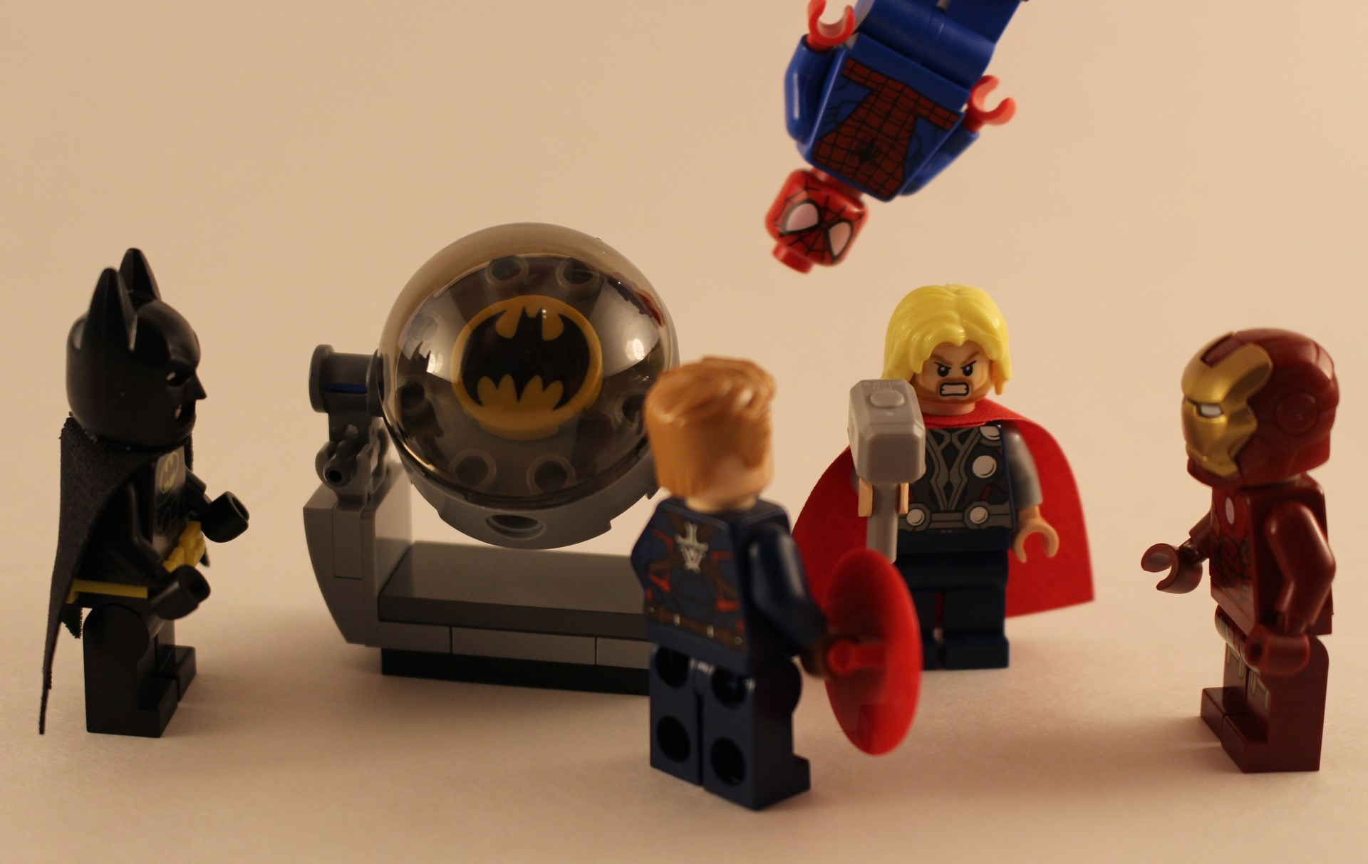 Assorted LEGO Superhero Minifigs