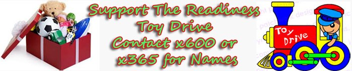 Support the Readiness Toy Drive