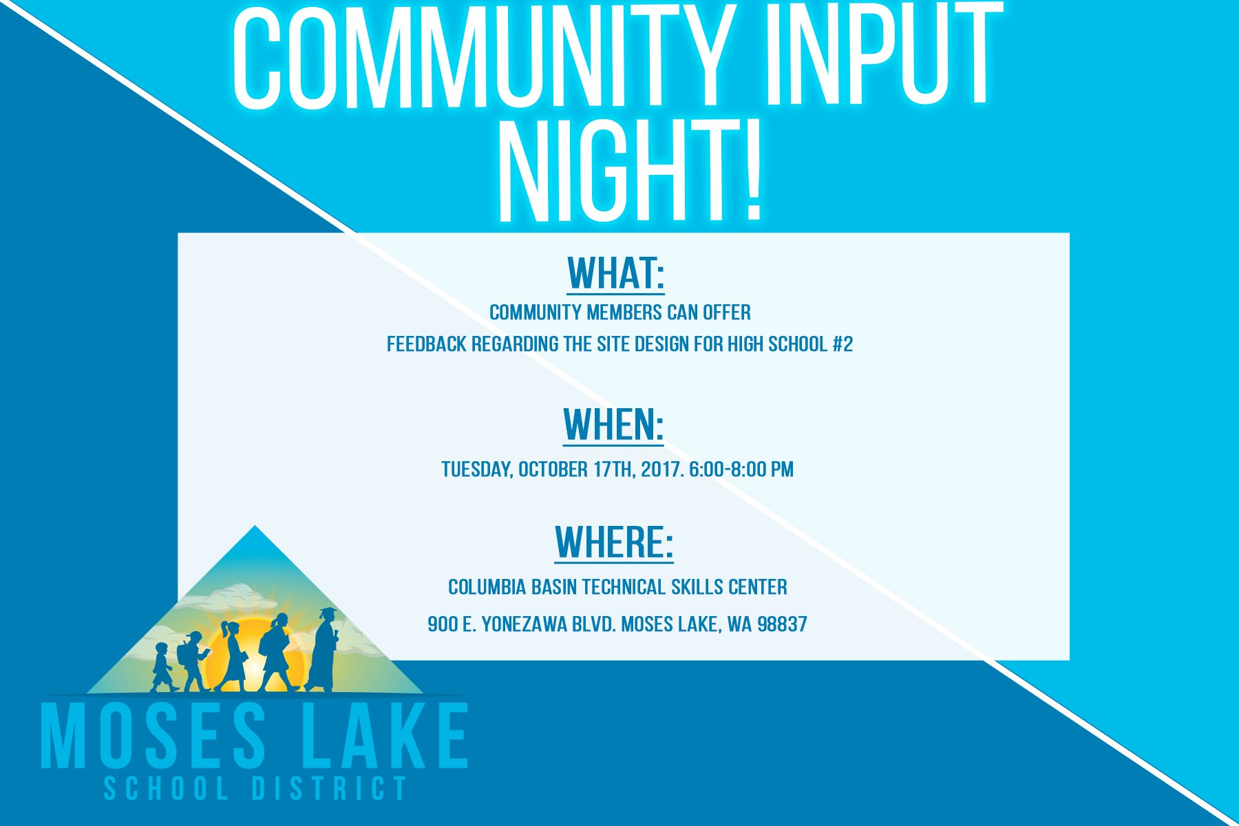 Community Night Graphic