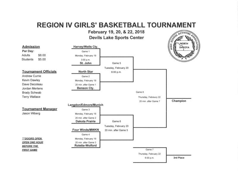 GBB Region 4 Tournament Schedule