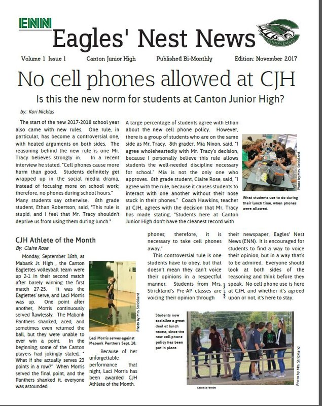 EAGLES' NEST NEWS Featured Photo